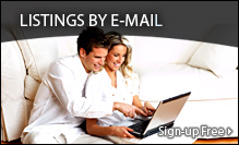 Receive new listings by e-mail